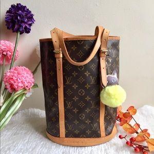 Louis Vuitton Monogram Bucket GM bag